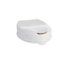 Aspire Toilet Seat Raiser with Lid- 50mm