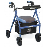 AIRGO® Comfort-Plus™ Rollator - Iridescent blue