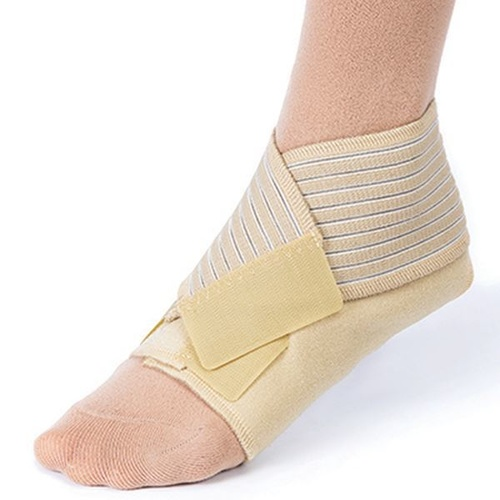 JOBST FARROW WRAP CLASSIC FOOT PIECE - Small Regular Tan