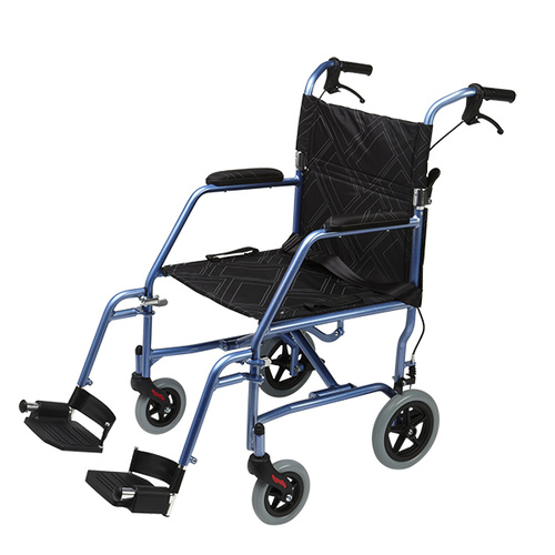 Omega LA1 Lightweight Wheelchair - Blue